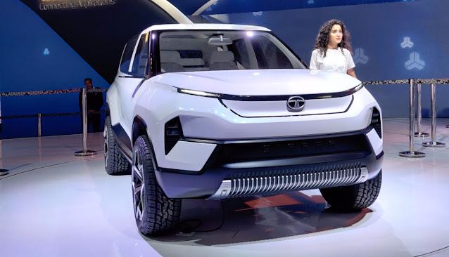 Tata electric SUV
