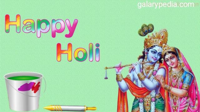 Happy Holi Radha Krishna images 2020