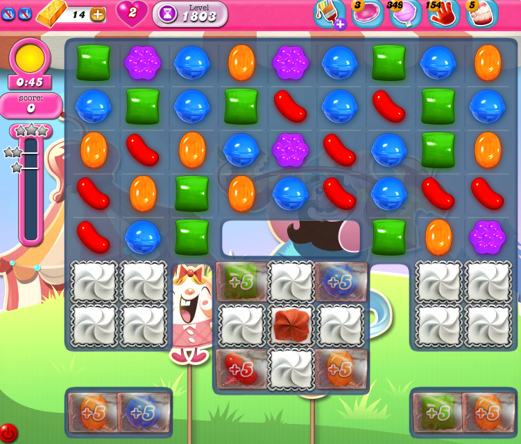 Candy Crush Saga 1803