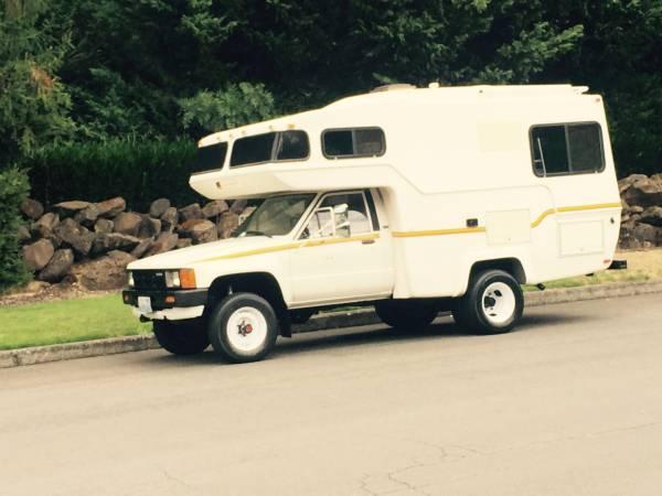 1984 Toyota Sunrader Motorhome 4x4 4x4 Cars