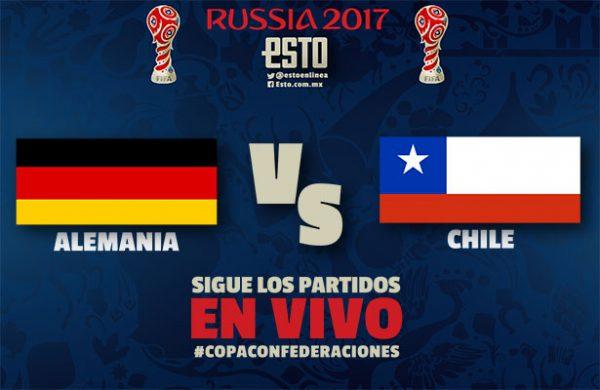 Ver Partido Chile vs Alemania EN VIVO Gratis Por Internet Hoy 22/06/2017