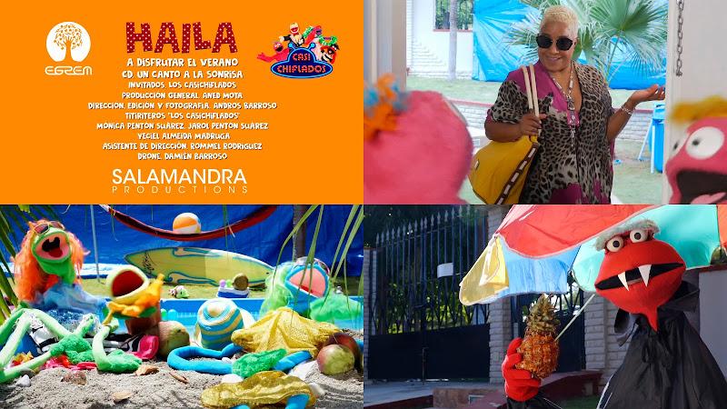 Haila - ¨A disfrutar el verano¨ - Videoclip - Director: Andros Barroso. Invitados: Los Casichifados. Compositores: Aned Mota - Carlos Cartaya. Cuba