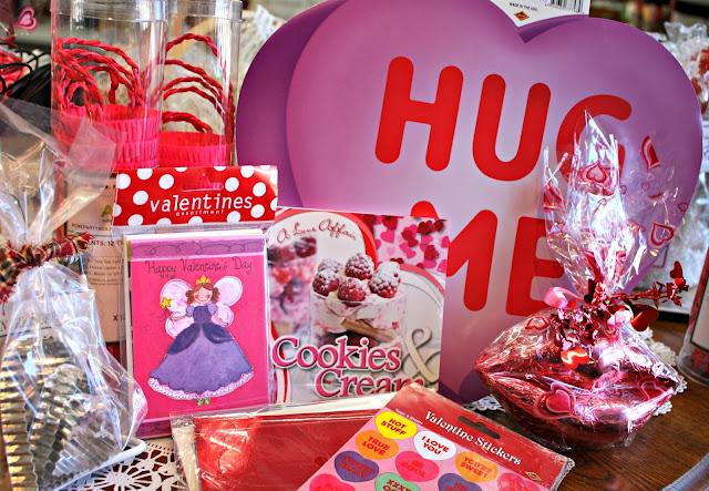 Made in U.S.A. Valentine's items.
