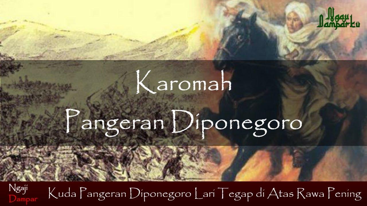 Karena Shalawat Burdah Ini, Kuda Pangeran Diponegoro Lari Tegap di Atas Rawa Pening