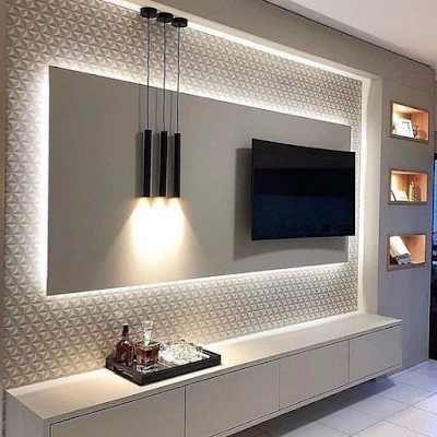 decorating ideas for tv wall