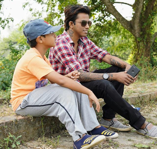 Sourajit Saha With Rick 5
