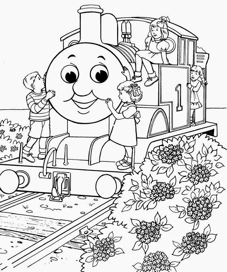 Coloring Pages Thomas The Tank Engine Coloring Pages Free And Printable