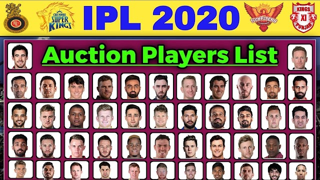 IPL 2020 player Auction | Complete list of sold players
