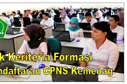 Cek Keriteria Formasi Pendaftaran CPNS Kemenag