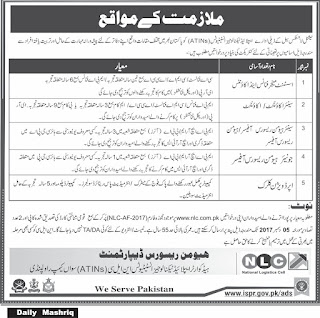 nlc-national-logistic-cell-jobs-latest
