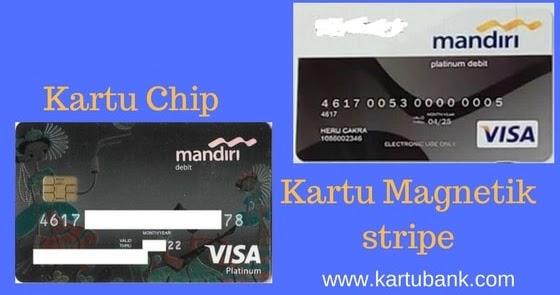 Beda Kartu Atm Chip Dan Magnetic Stripe Bank Mandiri Kartu Bank