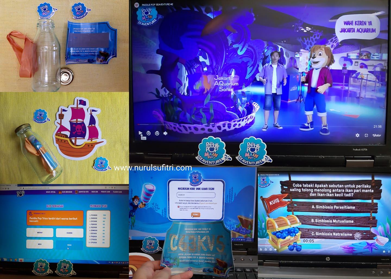 wisata virtual dunia bawah laut seaventure bersama  paddle pop dan jakarta aquarium safari nurul sufitri travel lifestyle blog