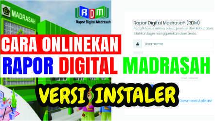 Cara onlinekan RDM Versi Instaler