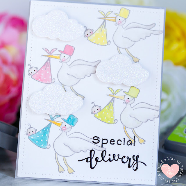 Special Delivery | Baby Card by Ilda