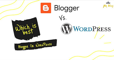 blogger and wordpress