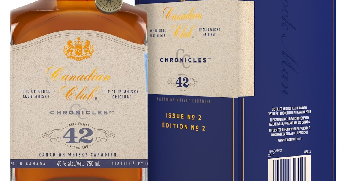 CANADIAN CLUB LAUNCHES ITS OLDEST EXPRESSION TO DATE