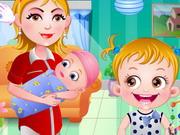 العاب بيبي هازل حقن تطعيم المولود الجديد