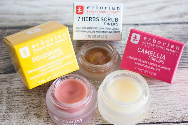 Trio de soins pour les lèvres Erborian