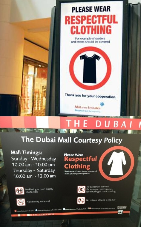 UAE Dress Code