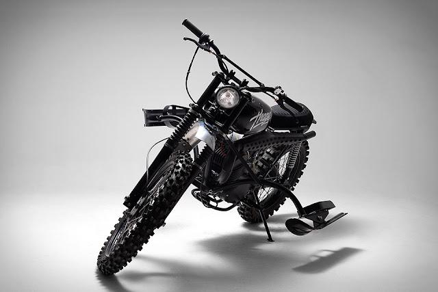 Husqvarna 256 Thage Motorcycle