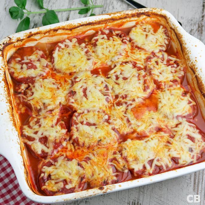 Recept Laagjesschotel met gehakt, aardappels, tomaten en kaas