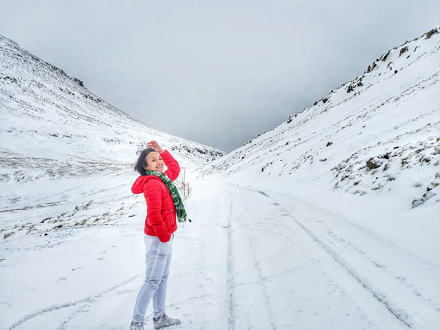 Musim dingin di Faroe Islands