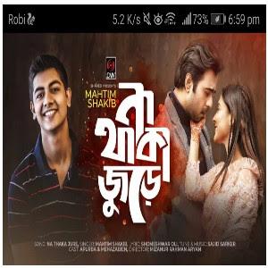 Na Thaka Jure Lyrics (না থাকা জুড়ে) Mahtim Shakib   Apurba Charur Biye Natok Song 2020 Download