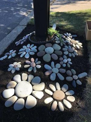 Mais de 70 ideias geniais para fazer usando pedras.