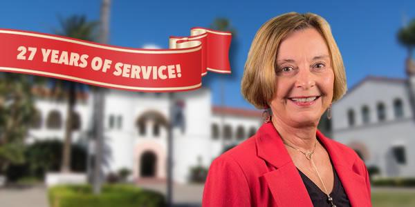 Dr. Nancy Farnan, 27 years of service