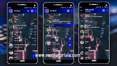 Download Tema WhatsApp Aero Paling Keren Terbaru 2020 ...