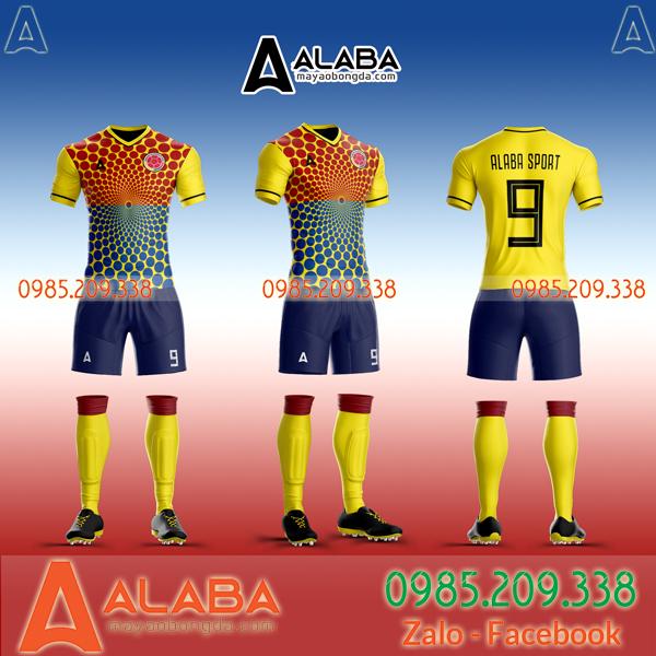 Áo đá bóng tuyển Colombia