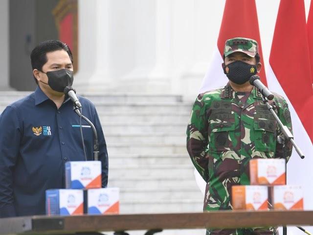 Jokowi Perintahkan TNI Distribusikan Paket Obat Covid-19 bagi Pasien Isoman
