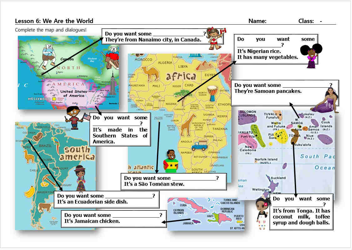 We Are The World Powerpoint Help Yourself Mrs Baia S