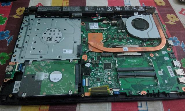 Tips Membongkar Laptop yang Aman, Baca Sebelum Menyesal !