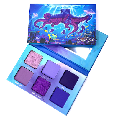 cheap purple palette