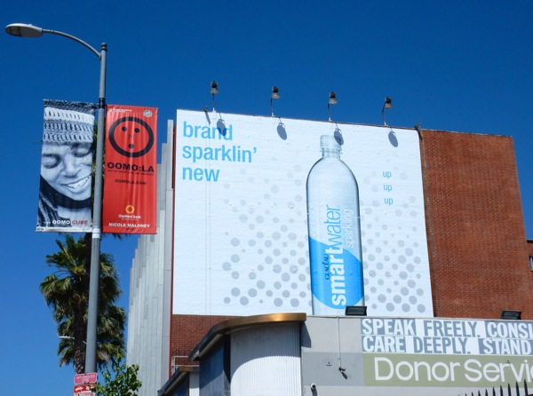 Sparkling Smart Water billboard
