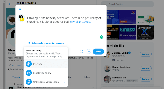 How To Choose Who Can Reply On Your Tweet   Custom Permissions For Your Tweet
