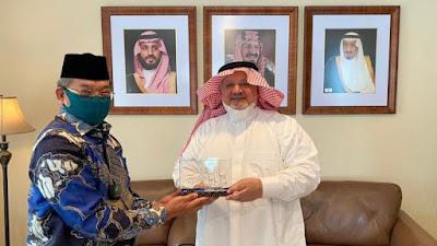 Kemenag Temui Dubes Saudi Tanya Umrah
