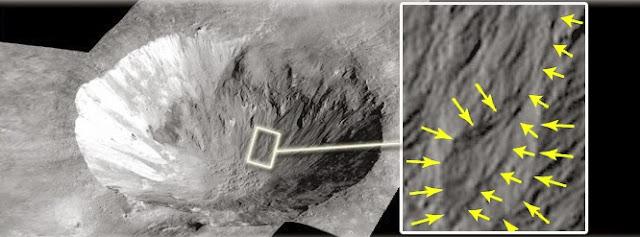 Água liquida na superfície do asteroide Vesta