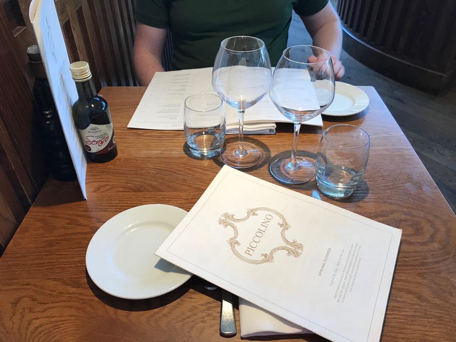 Piccolino Restaurant Sheffield
