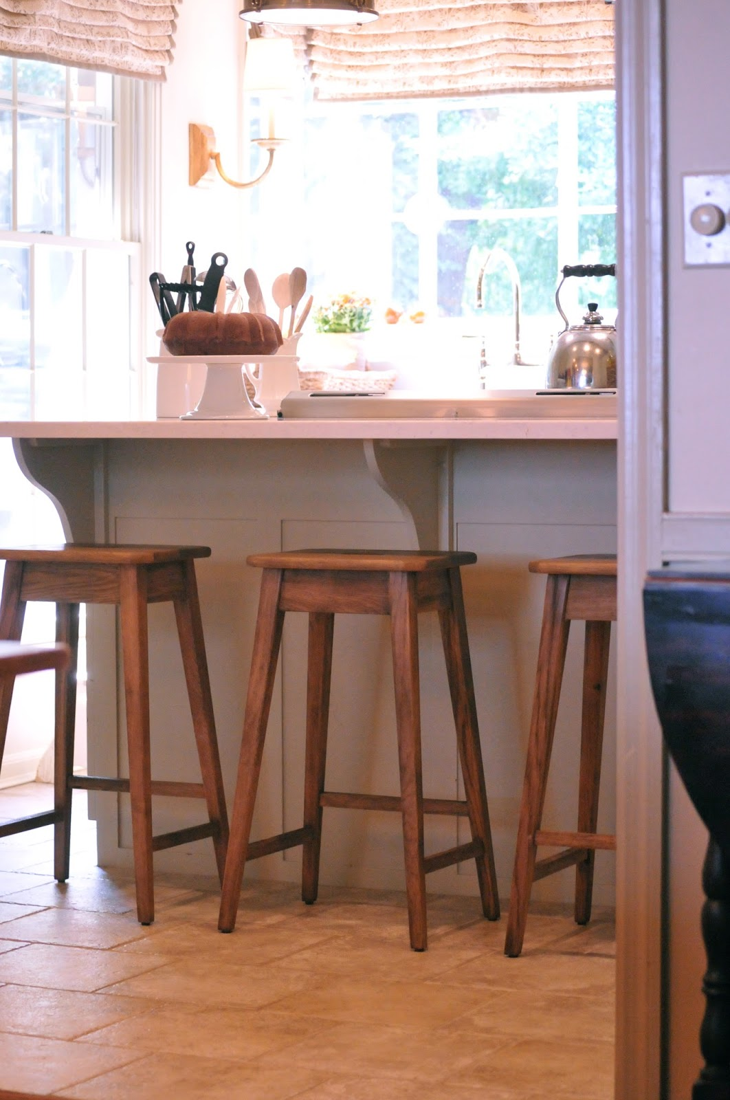 Stools For Kitchen Counters Nine 43 Sixteen Our Home New Kitchen Counter Stools