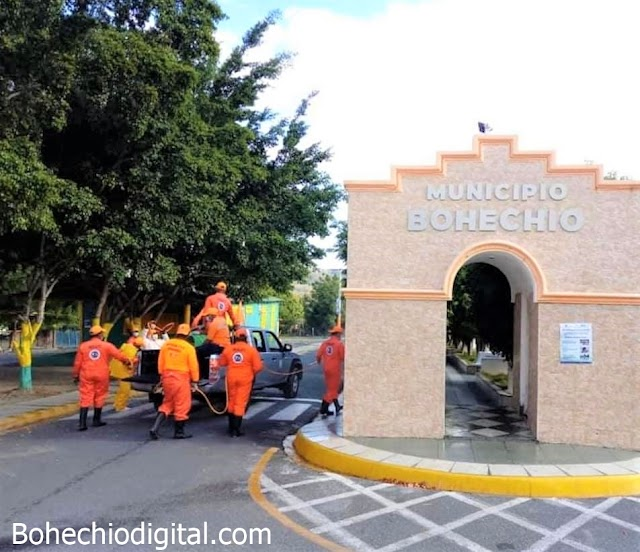 Bohechío: Gobierno Municipal reestructura Comité de Prevención y Emergencia por conavirus