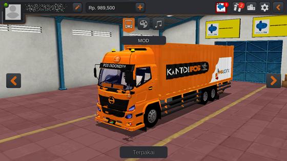 DOWNLOAD KUMPULAN LIVERY TRUCK BUSSID HINO  Download Livery Truck Hino 500 NG Box MOD CVT By Andryy Azharii