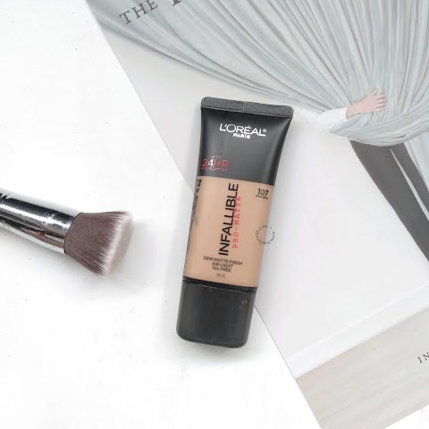 [REVIEW] L'Oreal : Infallible Pro Matte - 107 Fresh Beige
