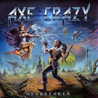 """Το album των Axe Crazy """"Hexbreaker"""""""