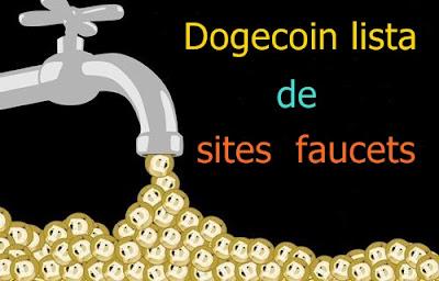 Dogecoin lista de sites faucets.