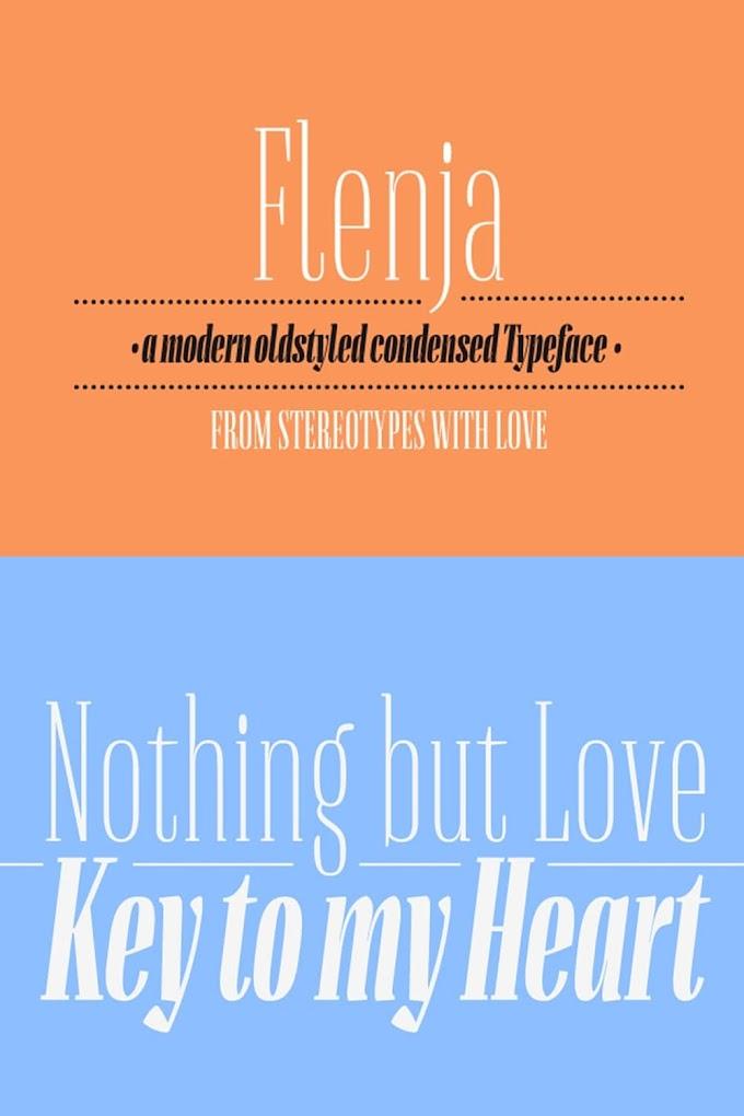 Download Flenja Serif Font