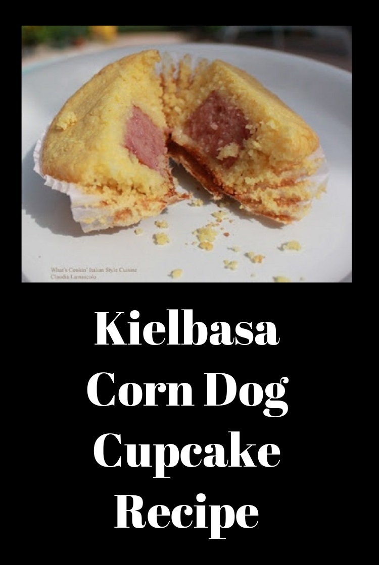 these are a kielbasa stuffed corn muffins