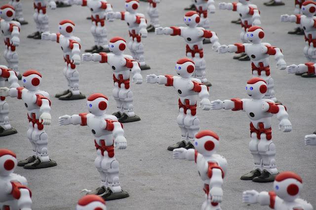 1000 robots