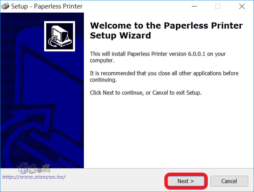 Paperless Printer 虛擬印表機